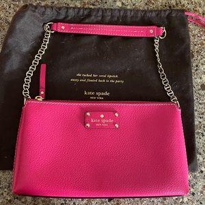 NWOT Kate spade hot pink purse